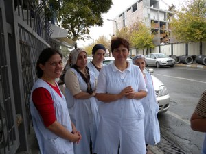 Turkish workers