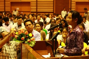 Members of the Asia Floor Wage Alliance