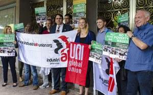 Solidarity actions in Geneva