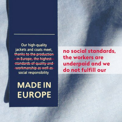 Made in Europe does not mean Made Fair...