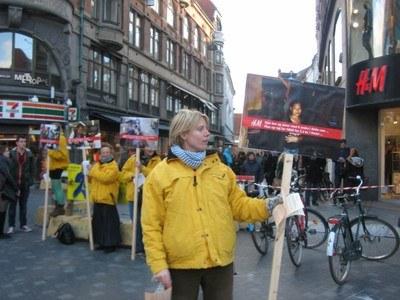 Action in Copenhagen Sept 2012