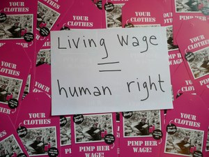 Living Wage = Human Right