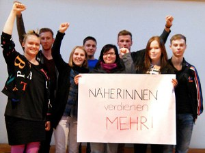 German students share their message