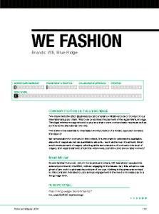 wefashion profile
