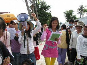 Garment Workers In Cambodia On Strike