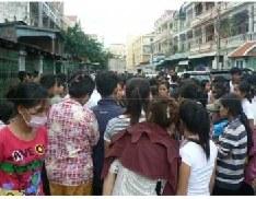 Update Cambodian Strike