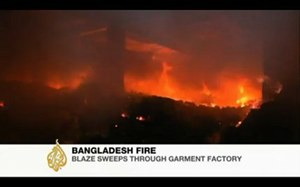 Bangladesh factory fire: brands accused of criminal negligence