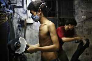 Denim workers pay deadly price