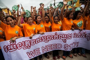 Cambodia trade unions sidelined in preparations of Draft Trade Union Law