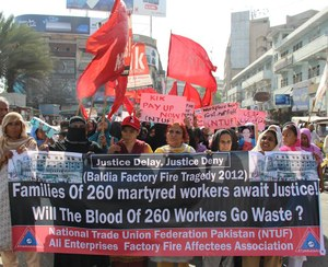 Landmark compensation arrangement reached on 4th anniversary of deadly Pakistan factory fire