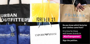 More brands should reveal where their clothes are made. 17 align with Transparency Pledge; others should catch up
