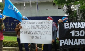 Open letter: After five years, it is high time to pay severance to 345 workers who made adidas and Mizuno shoes