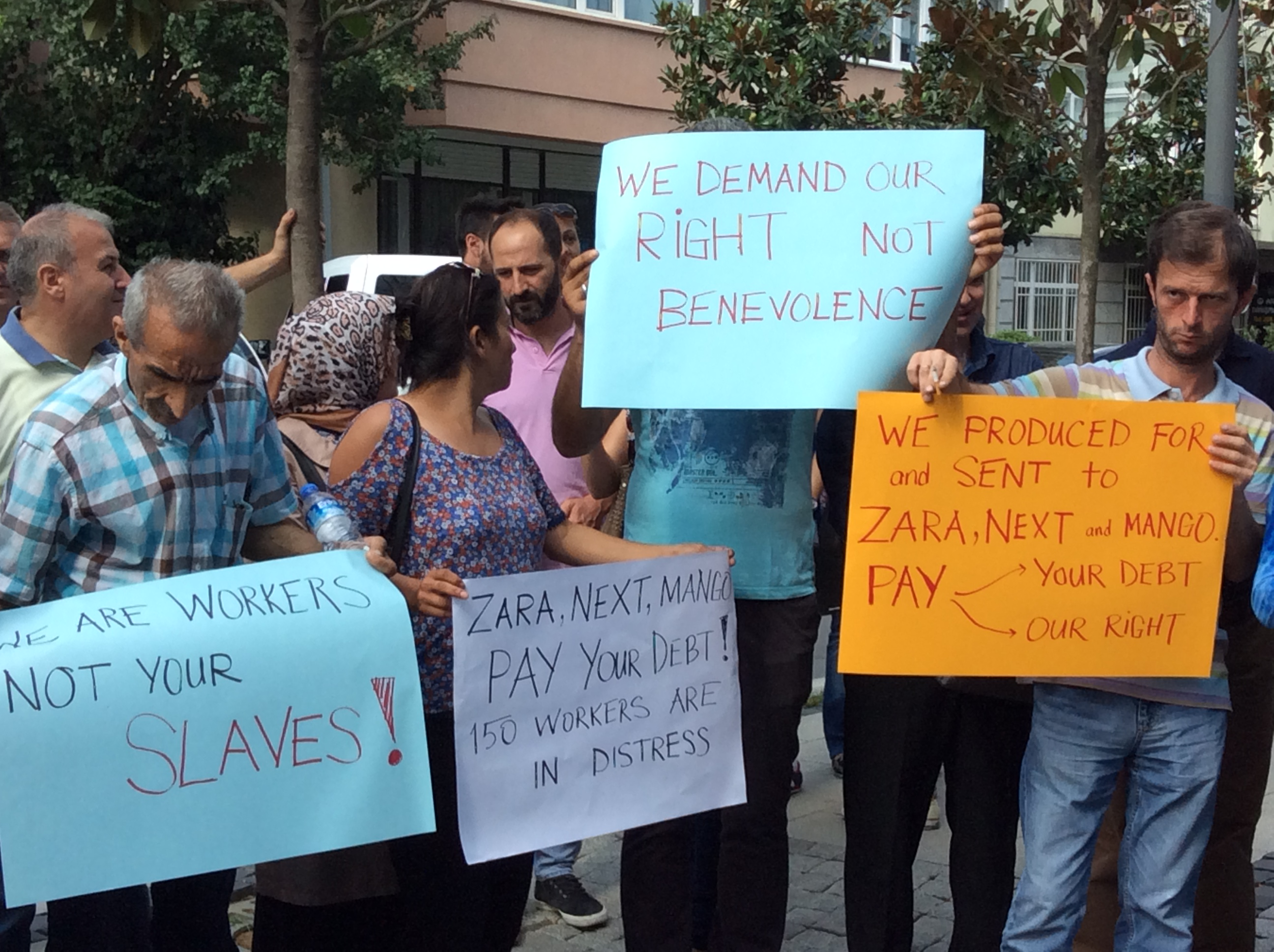 Zara, Next, Mango Slammed for Leaving Workers Without Wages in Turkish Factory