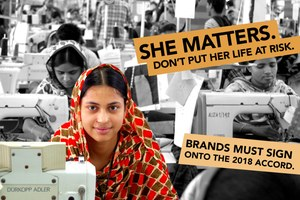 Clean Clothes Campaign starts week of action to urge brands to sign the 2018 Bangladesh Accord
