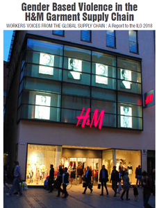 New research unveils gender based violence in H&M and Gap garment supply chains