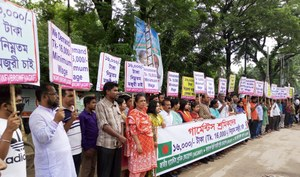 Full support for Bangladeshi garment workers' demands on minimum wage