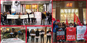 A wave of actions against poverty wages hits H&M's largest markets and production locations