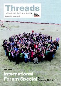 CCC Newsletter Threads No. 30 - International Forum