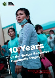 10 Years of the Better Factories Cambodia Project - A critical evaluation