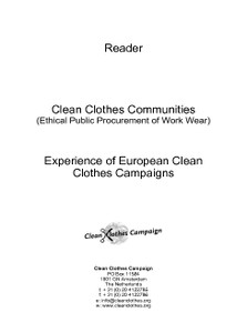 Clean Clothes Communities: Ethical Public Procurement of Work Wear