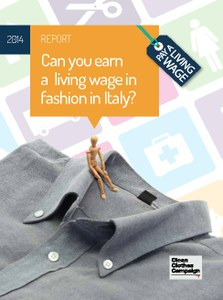 Italian Living Wage report