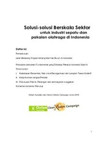 Sector Wide Solutions (Bahasa Indonesia)