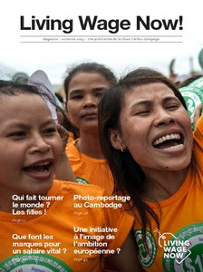 Living Wage Now magazine - french version