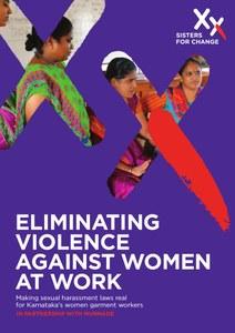 ELIMINATING  VIOLENCE  AGAINST WOMEN  AT WORK