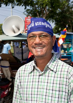 An interview with Tola Moeun, an activist with the Community Legal Education Center. He is an activist on labour and human rights issues since 2003.