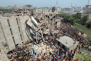 Deadliest garment factory collapse ever kills 1,138 and injures thousands more