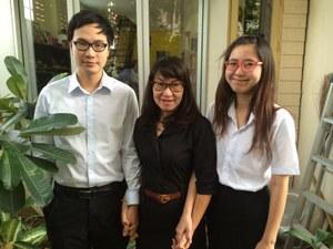 Somyot's family